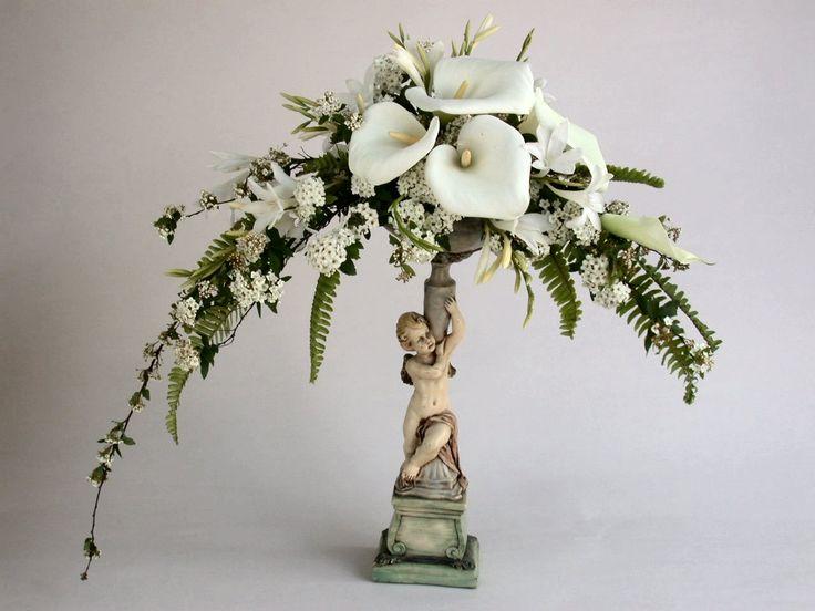 large silk floral arrangements for church | Wedding Centerpieces, Floral Arrangements and Boutonnieres