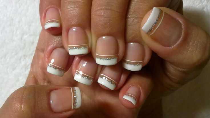 Pin by Hedwigs Baublry on Funky French Tip Nails | Pinterest | Manicure, Nail nail and Fancy
