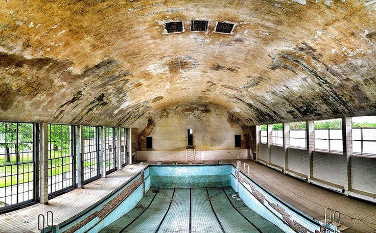 Олимпийский бассейн, Берлин, Летние Олимпискийские Игры, 1936