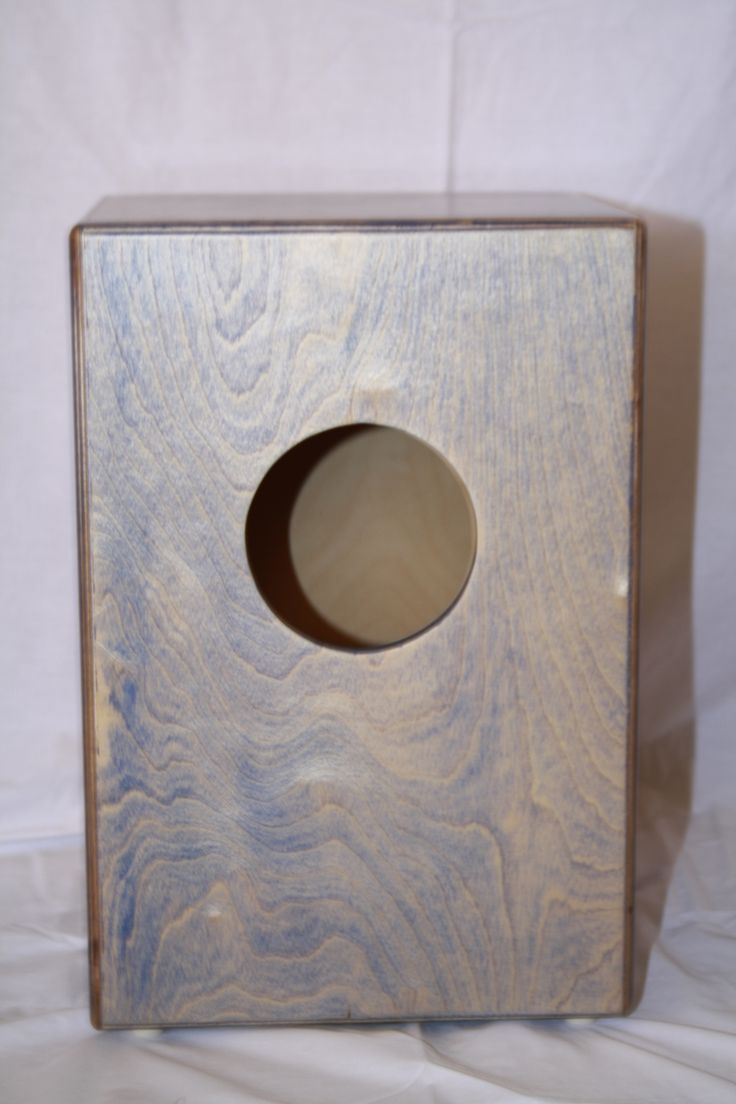 Custom made Deluxe Cajon with 24 stringed snare, braced striking plate and larger sound hole for deeper base.