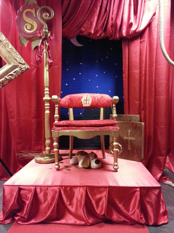 Sinterklaas decor,  winkelcentrum de Hooge Meeren Hoogezand.