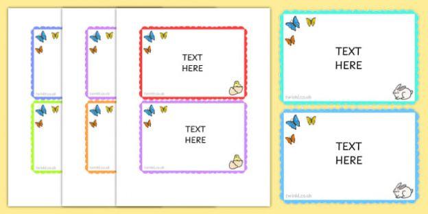 Clue Card Template In 2020 Card Template Flash Card Template Card Templates Printable