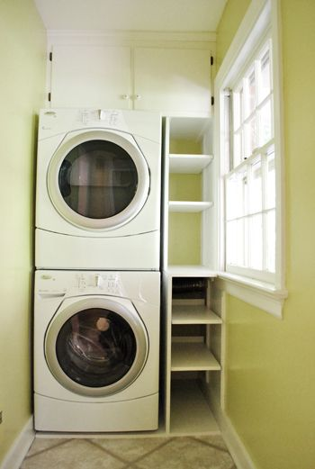 72 Best Images About Stacked Laundry Room On Pinterest