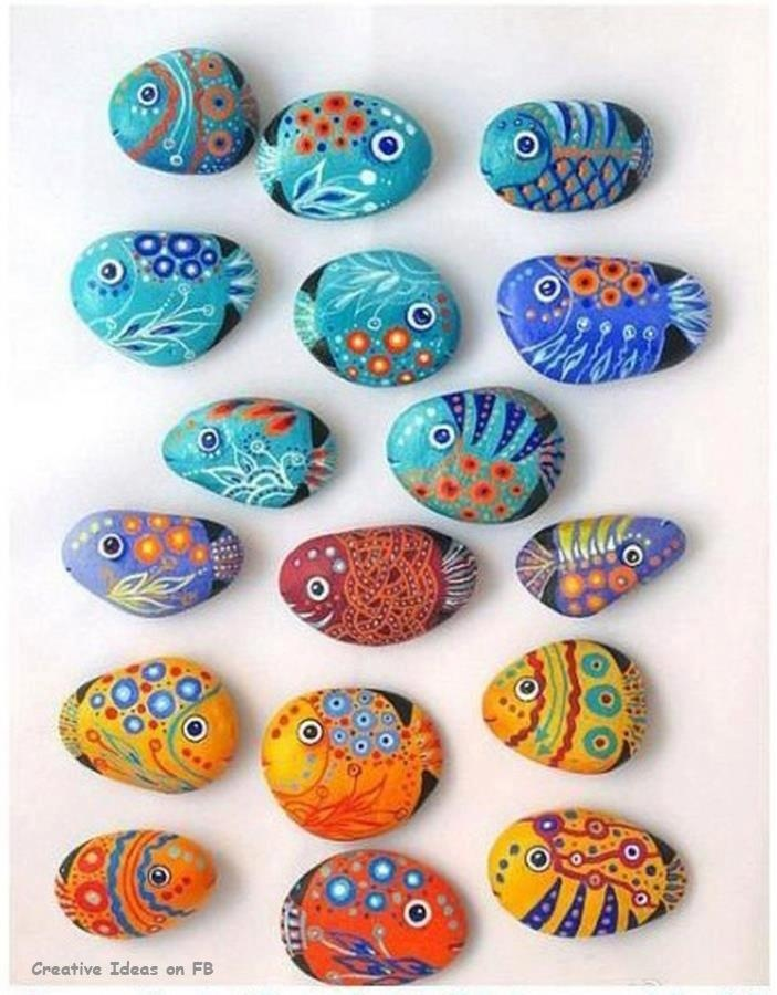 DIY with stones...I want to make these!