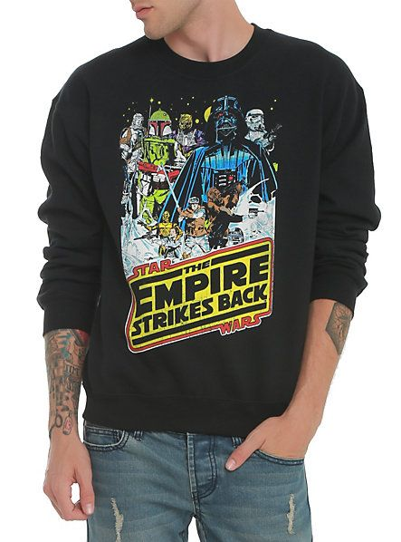 Star Wars The Empire Strikes Back Crew Pullover | Hot Topic christmas- jay