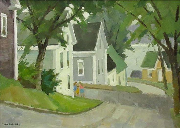 Tom Roberts; Kulbach Street, Lunenberg