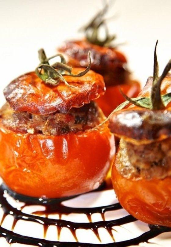 Запечённые помидоры