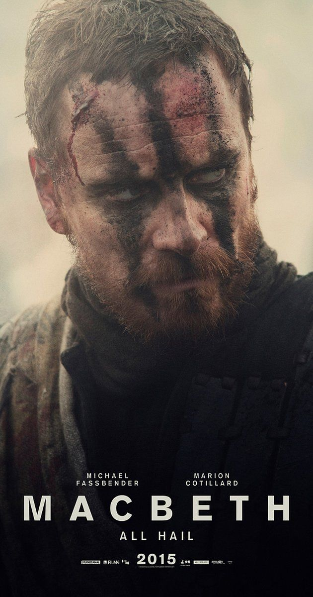 Directed by Justin Kurzel.  With Elizabeth Debicki, Michael Fassbender, Sean Harris, Marion Cotillard. Macbeth, a duke of Scotland, receives a prophecy from a trio of witches that one day he will become King of Scotland. Consumed by ambition and spurred to action by his wife, Macbeth murders his king and takes the throne for himself.