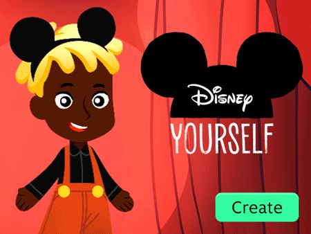 Create and share your Disney self with friends and family using Disney-inspired outfits and accessories. #DisneyYourself
