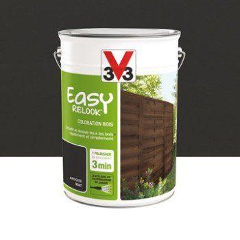 Protection V33 Easy Relook bois 5 l, ardoise | Ler…
