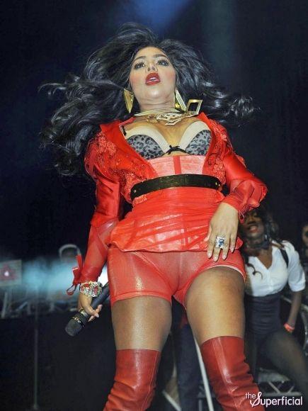 Lil Kim: Multiple Wardrobe Malfunctions | Celebrity Crush