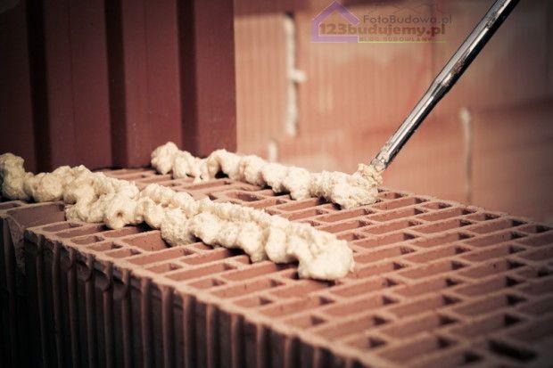 Łyk techniki System Porotherm DRYFIX opinie blog budowlany 123Budujemy budowa domu systemem gospodarczym #dryfix #porotherm