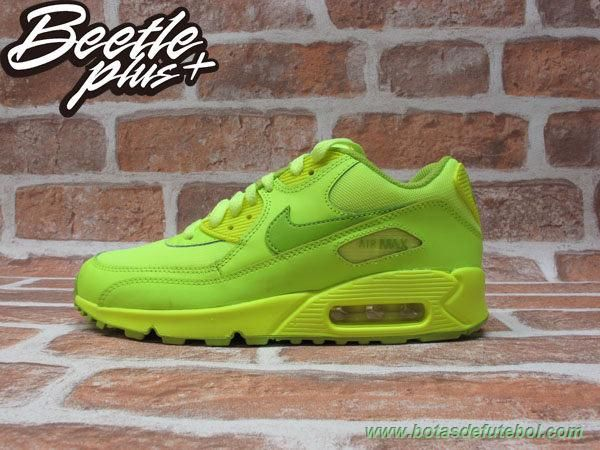 Nike Air Max 90 GS Volt Fierce Green
