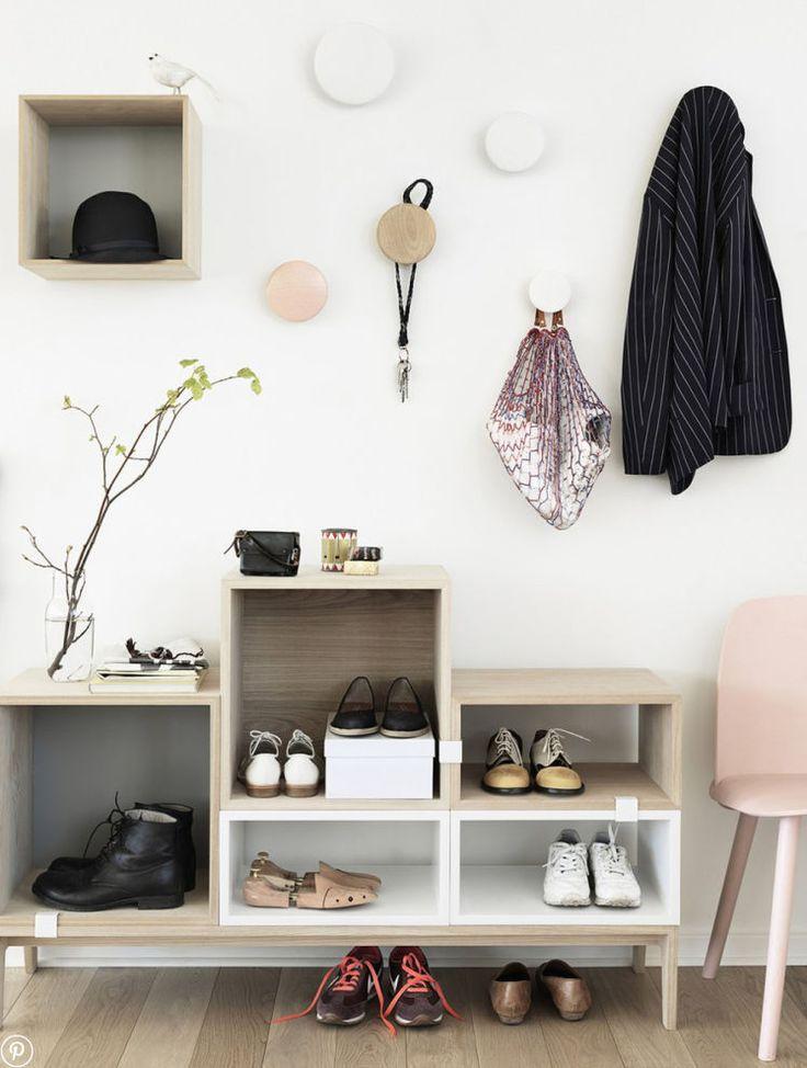 Kreatywne sposoby na przechowywanie butów - Myhome