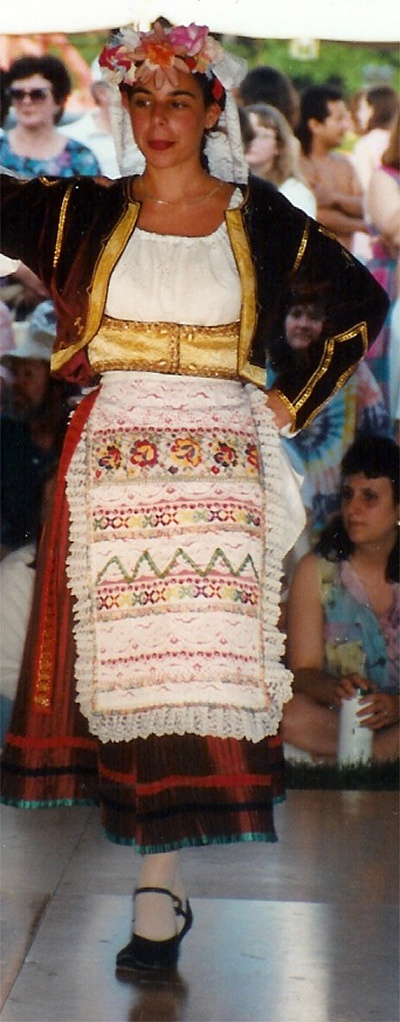 Kerkyra Corfu costume