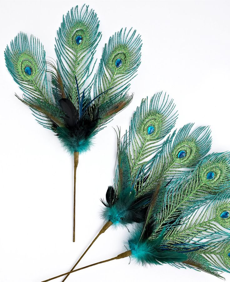137 Best PEACOCK Christmas Tree Decorations Images On