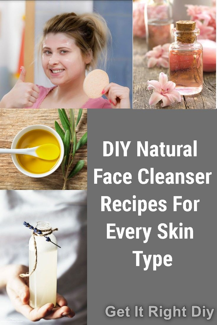 DIY Homemade Chemical-Free Face Cleanser at Home