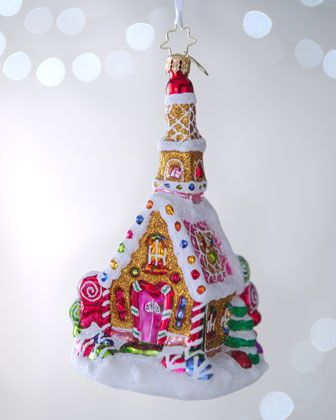 """""""Sweet Celebration"""" Christmas Ornament by Christopher Radko at Neiman Marcus."""