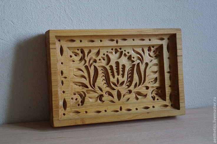 #Russia, wood #carving, Board for the preparation of #honey #cakes (#пряничная #доска) (the city of #Tula), amazing Russian carver #Vladimir Kolesyankin