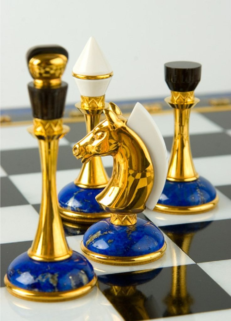 Шахматные фигуры из Лазурита. Chess pieces of lapis lazuli. Lapis lazuli /ˈlæpɪs ləˈzuːliː/, also /-ˈlæʒuːli/ or /-ˈlæʒuːlaɪ/, or lapis for short, is a deep blue semi-precious stone that has been prized since antiquity for its intense color.
