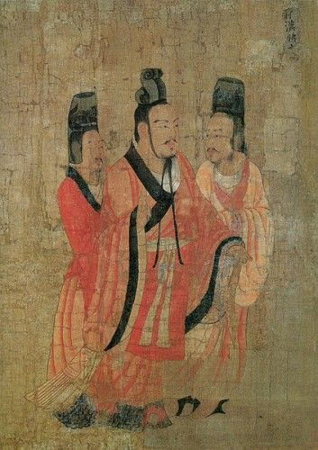 Emperor Wang Mang allegedly went down fighting amid his harem girls in 23CE - what a scene for  a martial arts drama!