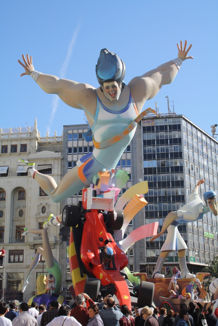 The main float at 2011's Las Fallas festival in Valencia. An extraordinary experience