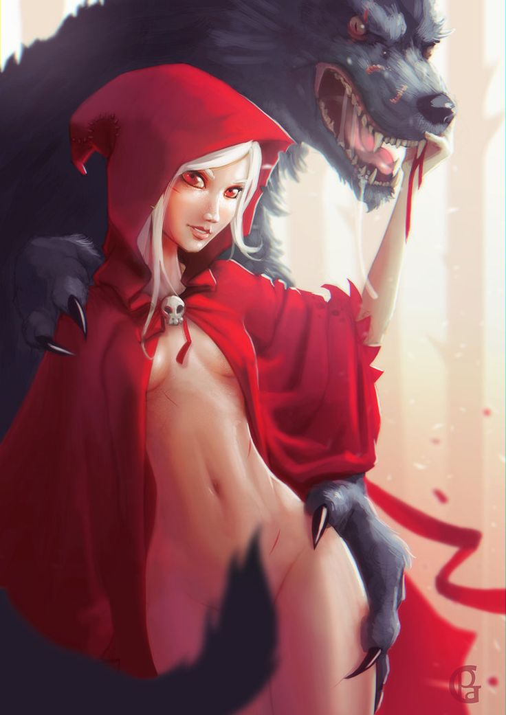 little red riding hood bondage