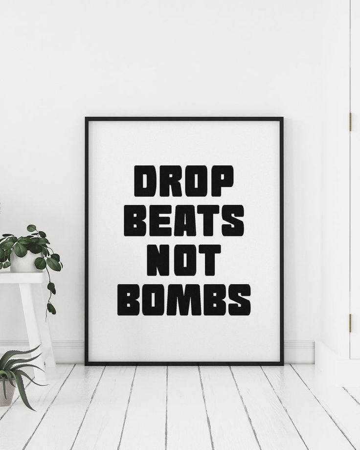 hip hop quotes wall art