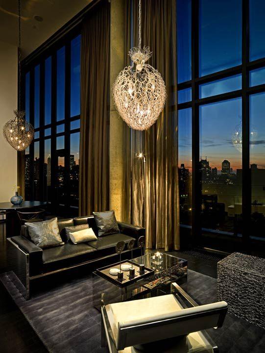 VIP Suite Luxury Hotel Lower East Side NYC Modern Living RoomsLiving Room