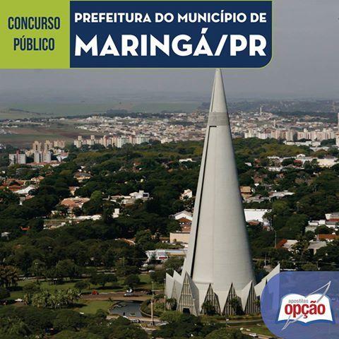 Apostilas Concurso Prefeitura Municipal de Maringá / PR - 2016: - Cargos: Cuidador Infantil e Auxiliar Operacional