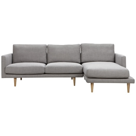 Studio Modular 2.5 Seat Left Hand & Chaise Right Hand Arena Cement