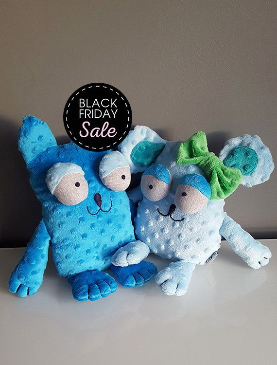 Black Friday Sale 20% off Kitty and Mouse – naughty duo / Stuffed animals & plushies, christmas and birthday gift, kids toys play by KAKUMAstore on Etsy