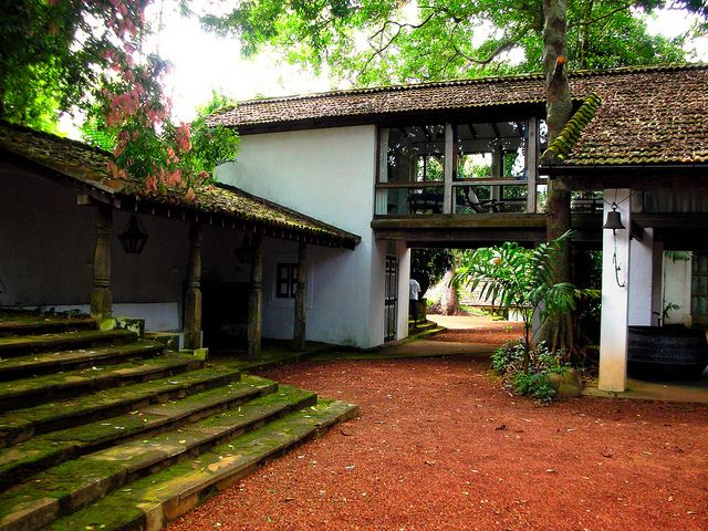 Geoffrey Bawa House, Lunuganga, Sri Lanka by David, via Flickr