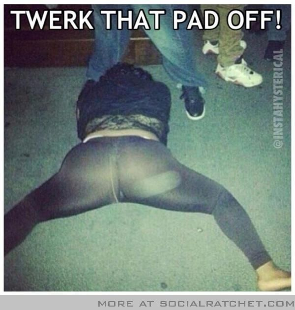 Hahahhahahahahha....HOW does ones pad go this astray?!?!