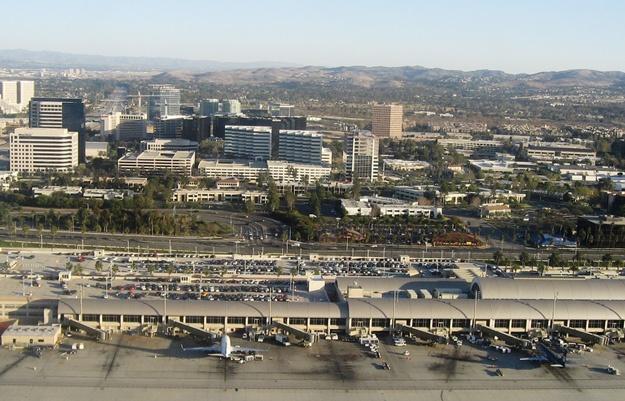 John Wayne Airport and Irvine CA