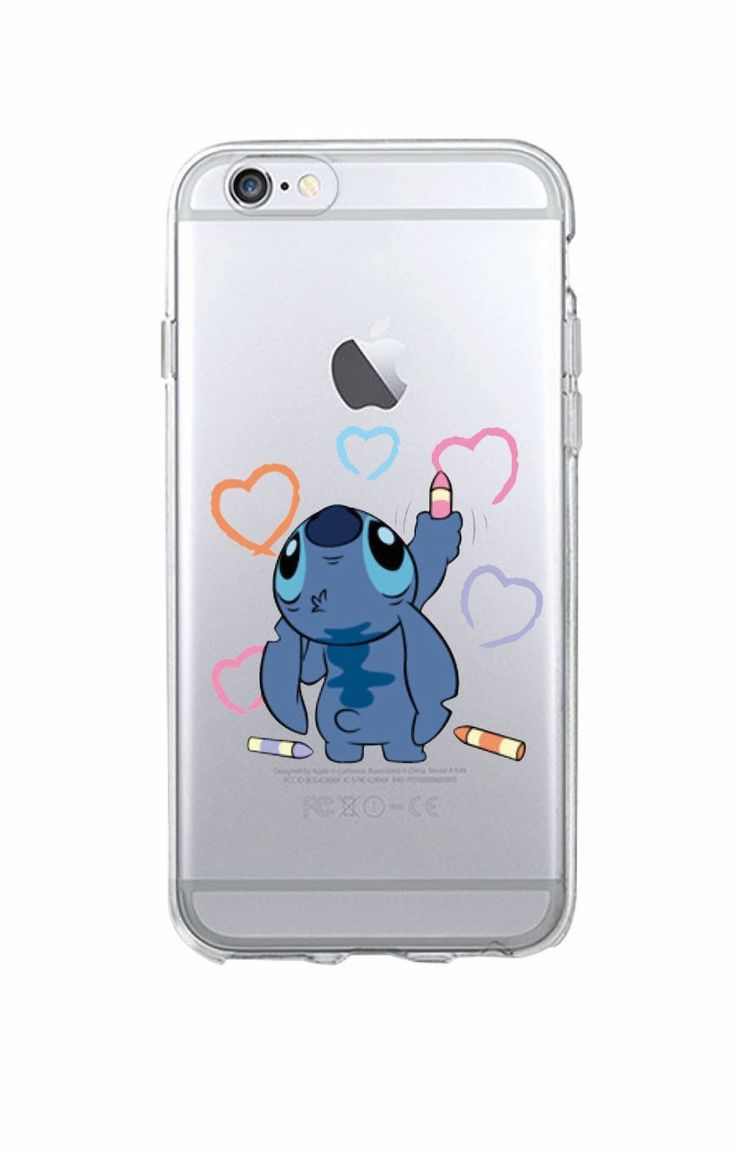 Funny Cute Stitch Cartoon Emoji Soft TPU Clear Phone Case Fundas Coque For iPhone 6 6S 6Plus 7 7Plus 5 5S SE 5C SAMSUNG Galaxy http://amzn.to/2st3OR5
