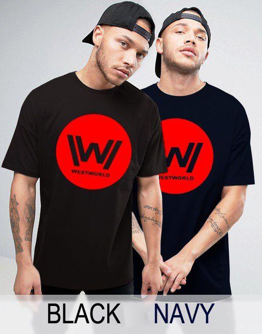 Black+Men's+Tshirt+Westworld+Black+Shirt+For+Men