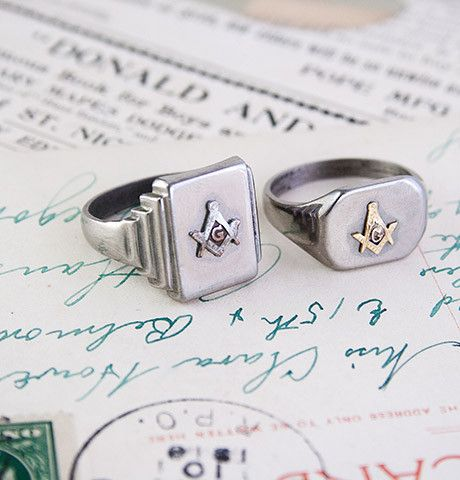 Masonic Men's Rings, $150 each