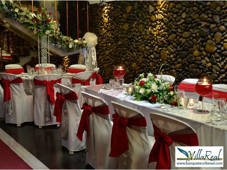 Salón de Laureles-Medellín www.banquetesvillareal.com