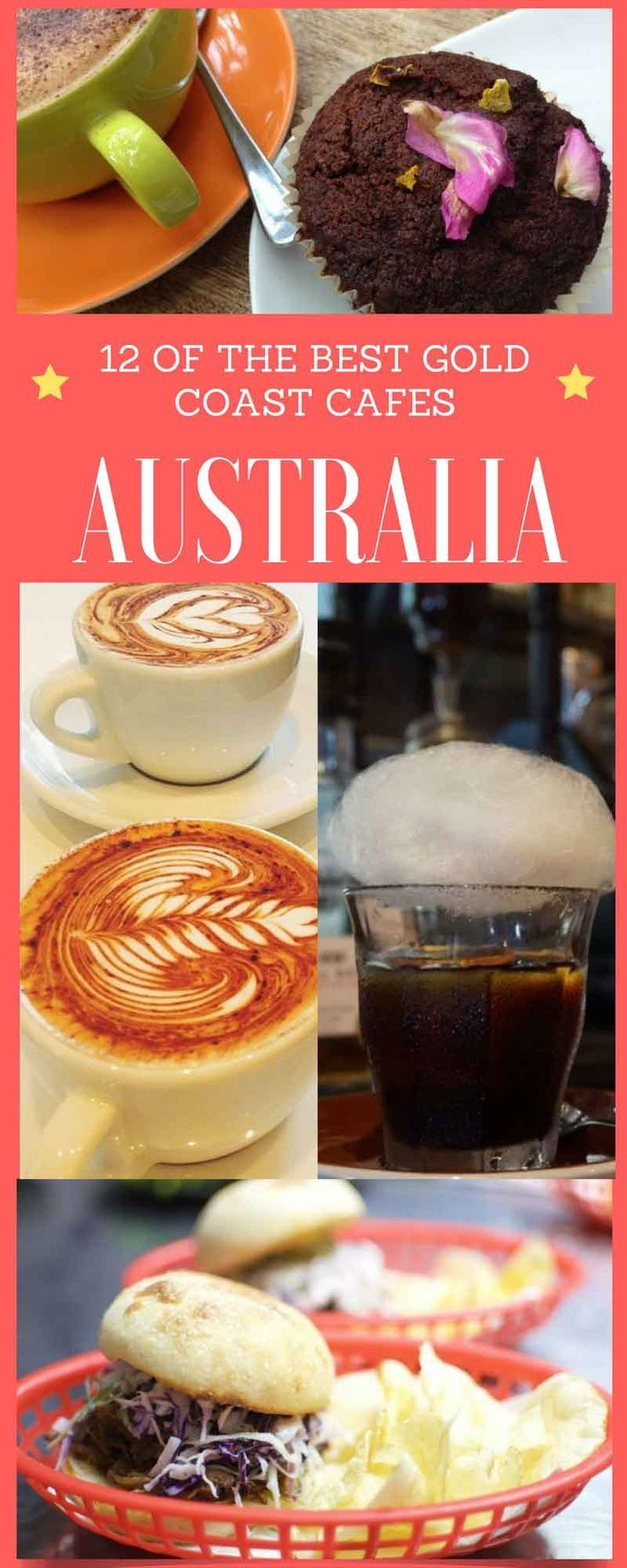 12 of the best Gold Coast cafes. Until a few years ago, 'froth' on the Gold Coast was associated with two things: foam from ocean waves during a big swell, or a milky cappuccino.