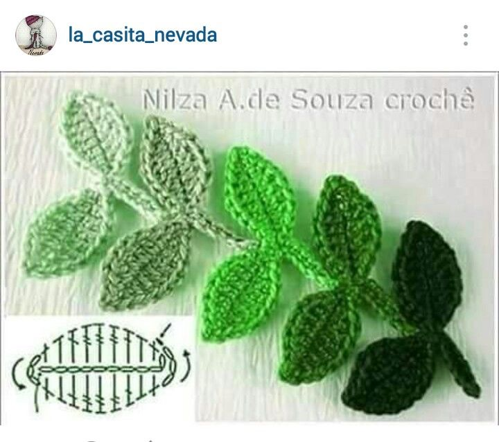 150 best crochet flowers 1 images on pinterest crocheted instagram lacasitanevada crochet leaves diagram ccuart Image collections