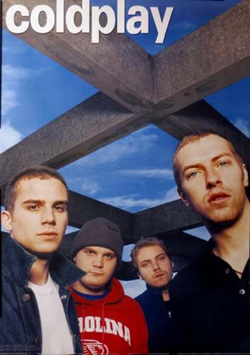 An awesome band portrait poster of Chris Martin and Coldplay from the Rush of Blood to the Head era! An original published in 2003! Fully licensed. Ships fast. 24x34 inches. Check out the rest of our