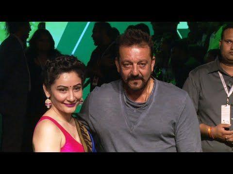 Sanjay Dutt with his wife Manyata Dutt at Lakme Fashion Week 2016.