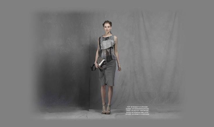 #overcoat #dress #belt #shoes_MALLONI