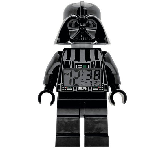 Buy LEGO Star Wars Darth Vader Figure Alarm Clock at Argos.co.uk, visit Argos.co.uk to shop online for Clocks, Home furnishings, Home and garden