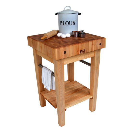 walmart butcher block kitchen cart boos tables on wheels costco