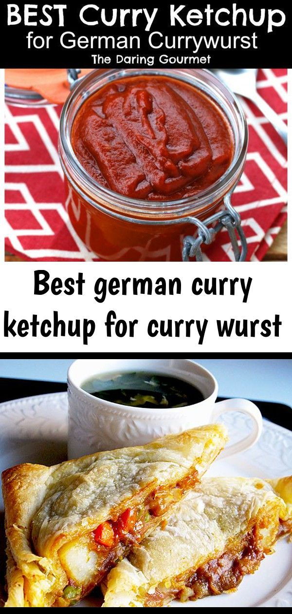 Best German Curry Ketchup For Curry Wurst Currywurst Recipe Curry Ketchup Popular Recipes