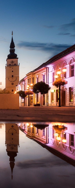 Evening reflections by Matúš Koprda - Photo 116517203 - 500px (Trnava, Slovakia)