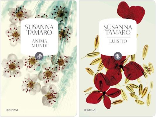 """I """"DrugFlowers"""" di Massimo Gardone interpretano i tascabili di Susanna Tamaro editi da Bompiani. Design Francesco Messina, Polystudio"""