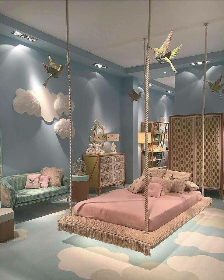 43 Elegant Kids Bedroom Design Ideas For Little Girls Kids Bedroom Designs Small Apartment Bedrooms Kids Bedroom Design